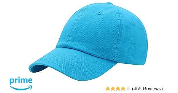c5b2de220e0 Top Level Baseball Cap for Men Women - Classic Cotton Dad Hat Plain Cap Low  Profile