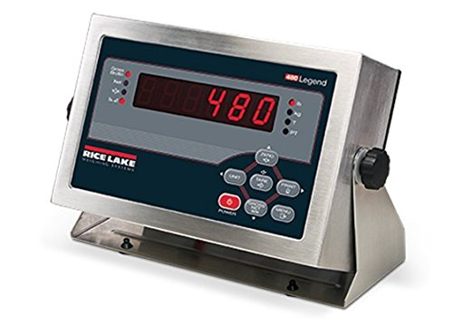 - Rice Lake, 480 Legend Series, Digital Weight Indicator, 115 VAC, NTEP