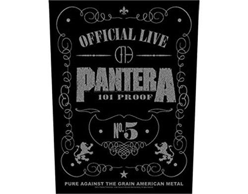 Pantera 101 Proof Patch G/éant AFFRANCHISSEMENT GRATUIT