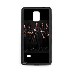 Asking Alexandria Samsung Galaxy Note 4 Cell Phone Case Black Urgkr