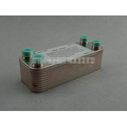 Laliva 20 Plates Wort Chiller,Plate heat exchanger,Stainless Steel 304, Brewing Chiller, 1/2'' BSP