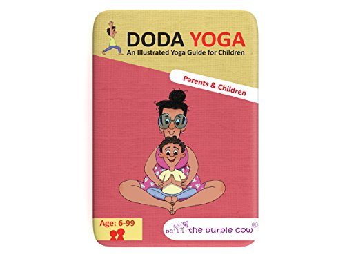 The Purple Cow Doda Yoga for Kids - Parents and Children Educational Yoga Session / Ages 6 Years Old & Up.. Educational and Physical Activity for Boys & Girls