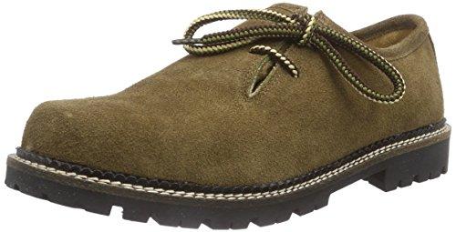 Stockerpoint Schuh 1224, Derby Mixte Adulte Marron (Torf Antik)