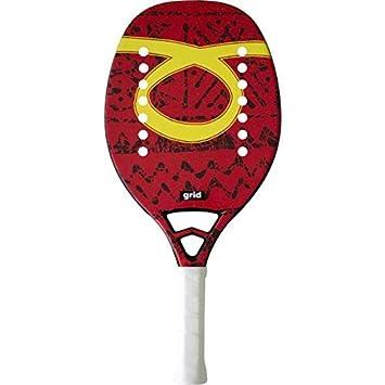 Tom Outride Raqueta Tenis Playa Racket Grid 2019: Amazon.es ...
