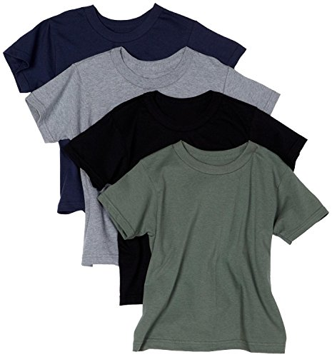 Hanes Men's ComfortSoft Tagless Dyed T-Shirts, Assorted Colors, Pack of 4 - (Hanes Fitting)