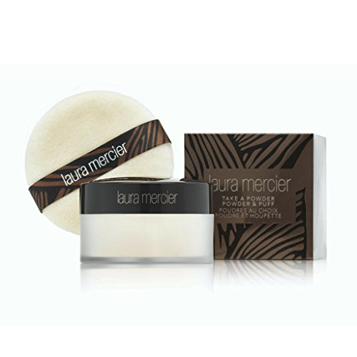 Laura Mercier Take A Powder Translucent Loose Setting Powder With Puff (Laura Mercier Loose Setting Powder Translucent)