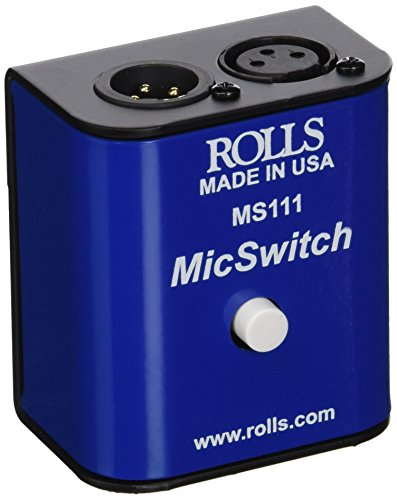 Mic Mute (rolls MS111 Mic Switch On/Off)