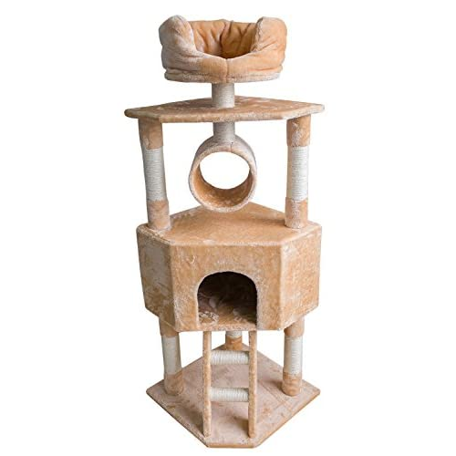85%OFF Merax Cat Tree Cat Tower Activity Trees Scratcher Play House Condo Furniture