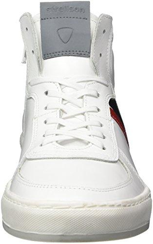 Sneaker Top Strellson Mfz1 Evans High Weiß White Copperbox Herren ttAqH7
