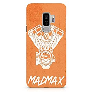 Loud Universe Engine Car Samsung S9 Plus Case Madmax Art Samsung S9 Plus Cover with 3d Wrap around Edges