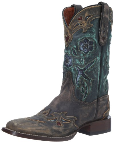 Bluebird Western Boot,Copper/Turquoise,9.5 M US ()