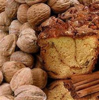 My Grandma NNLGC Large- 10 in.- 3.1 lbs Cinnamon Coffee Cake No Nuts