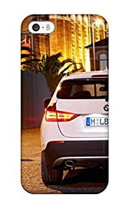 Hot Design Premium PzRydkQ7049MNOjq Tpu Case Cover Iphone 5/5s Protection Case(bmw X1 And Couple Beautiful X Suv White Rear Angle Cars Bmw)