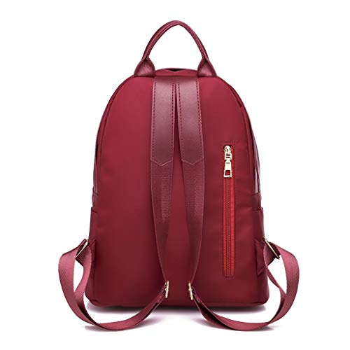 Fashion Zaino Impermeabile Di Borsa Small Lady Grande Fresh Oxford Capacità Red Antifurto 57r0Ox5q