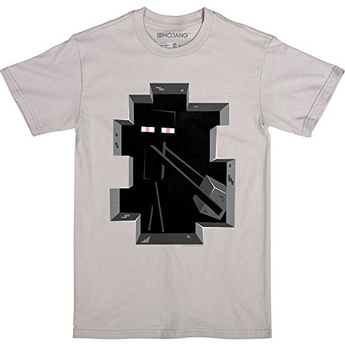 JINX Minecraft Creepy Creeper Boys Tee Shirt