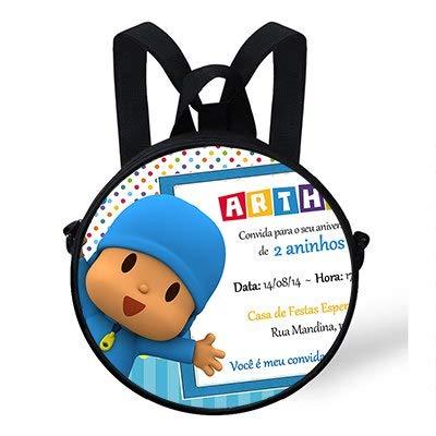 2018 - Mochilas Infantiles de 9 Pulgadas, Divertidas y Divertidas Dibujos Animados en 3D, diseño de Pocoyo, para niños: Amazon.es: Hogar