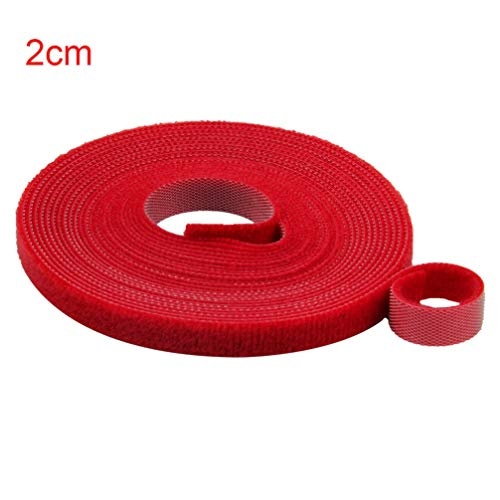 Fasteners Adhesive Self Strong Binding - 5Meters Strong Short Hooks and Loops Self Adhesive Tape Back to Back Cable Ties Curtain Fastener Sewing Accessories Supplies