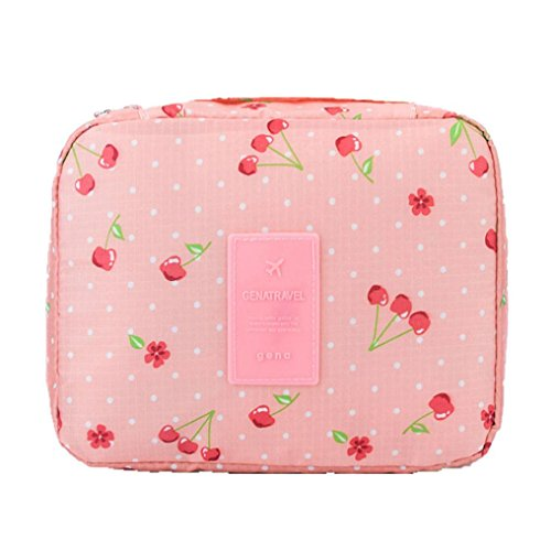 - Cinhent Bag Travel Portable Toiletry High-Grade Waterproof Washable Cosmetic Bag Makeup Multifunctional Underwear Storage Bag (D)