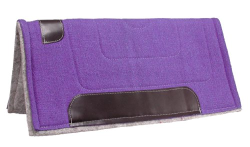 Tough 1 Ottawa Saddle Pad Heavy Felt Lined, - Pad Saddle Horse Blanket
