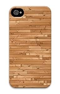 iphone 4S case indestructible Wooden floor 3D Case for Apple iPhone 4/4S