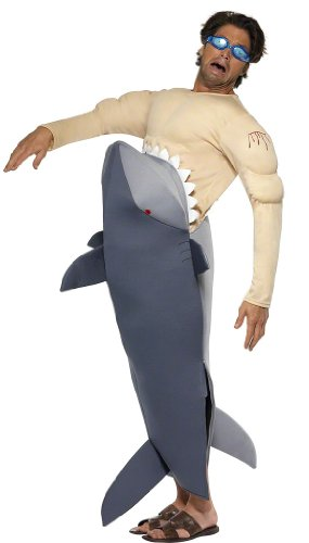 Man Eating Shark Halloween Costumes