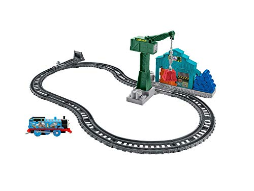 Fisher-Price Thomas & Friends TrackMaster, Demolition at the Docks Set (Thomas And Friends Cranky At The Docks)
