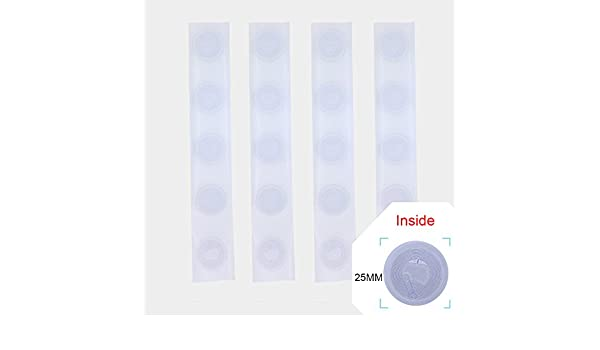 Amazon com: 400pcs NFC NTag213 tag RFID PVC Stickers 13 56