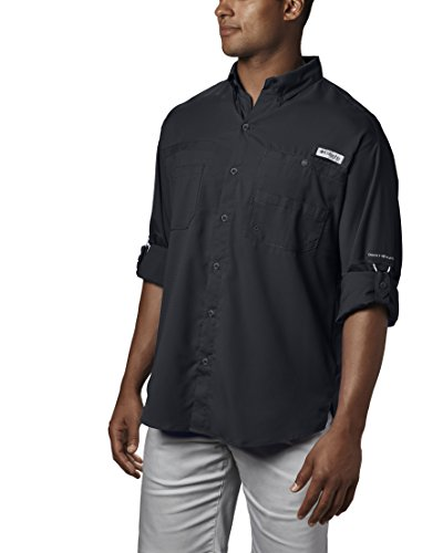 Columbia Men's Plus Tamiami II Long Sleeve Shirt, Black - 2X Big by Columbia (Image #4)