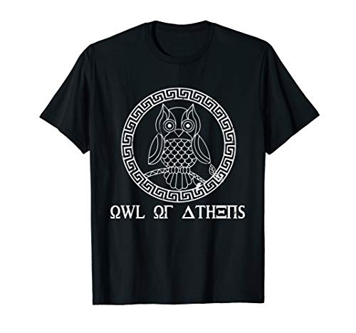 Greek Mythology Athena Goddess Shirt Athenian Athens ()