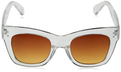 Clear Sunglasses 55 Apparel Transparente Sunset Gradient Sol Mujer Vans Gafas Sunny para Dazy Gradient Transparente Clear de sunset tqwTPOvT