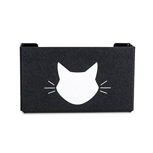Glove Dispenser Single (SourceOne UnBreakable Glove Dispenser, Single Box Capacity (1 Pack, Cat Black))