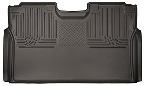 Husky Liner 2nd Row Seat (Husky Liners 2nd Seat Floor Liner Fits 15-18 F150(17-18 F250/350) SuperCrew)