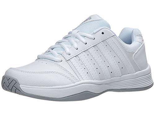 K-Swiss Women's Court Smash (8, White/White/Highrise)