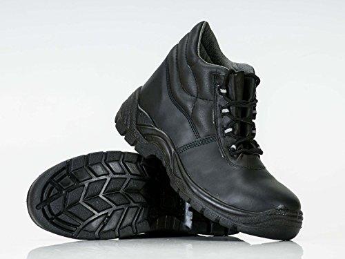 Portwest FC10 - Boot Compositelite 43/9, color Negro, talla 43 Negro