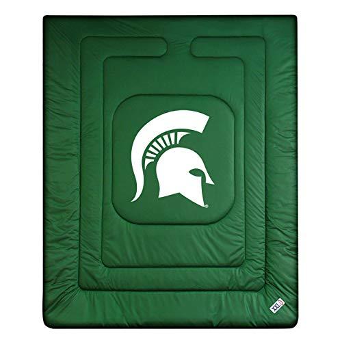 NCAA Michigan State Spartans Locker Room Comforter Queen