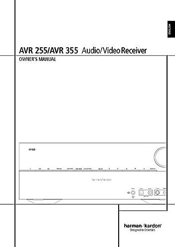 harman kardon avr 255 av receiver owners manual plastic comb jan rh amazon com Parts Manual Service Station