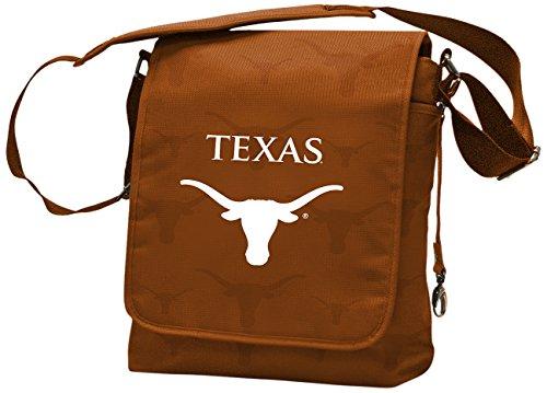 Wild Sports NCAA College Texas Longhorns Messenger Diaper Bag, 13.25 x 12.25 x 5.75-Inch, -