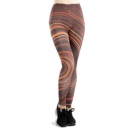 GYXYYF Dünne Sporthosen Digitaldruck Jogginghose Frauen Stretch Hohe Taille Abnehmen Fitness