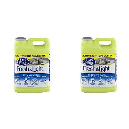Cat's Pride Fresh Ultimate Care Lightweight Unscented Hypoallergenic Multi-Cat Litter (2 Pack) ()