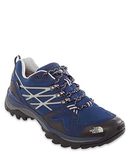 North Face Hedgehog Fastpack GTX Walking Shoes UK 10.5 Estate Blue Cosmic Blue