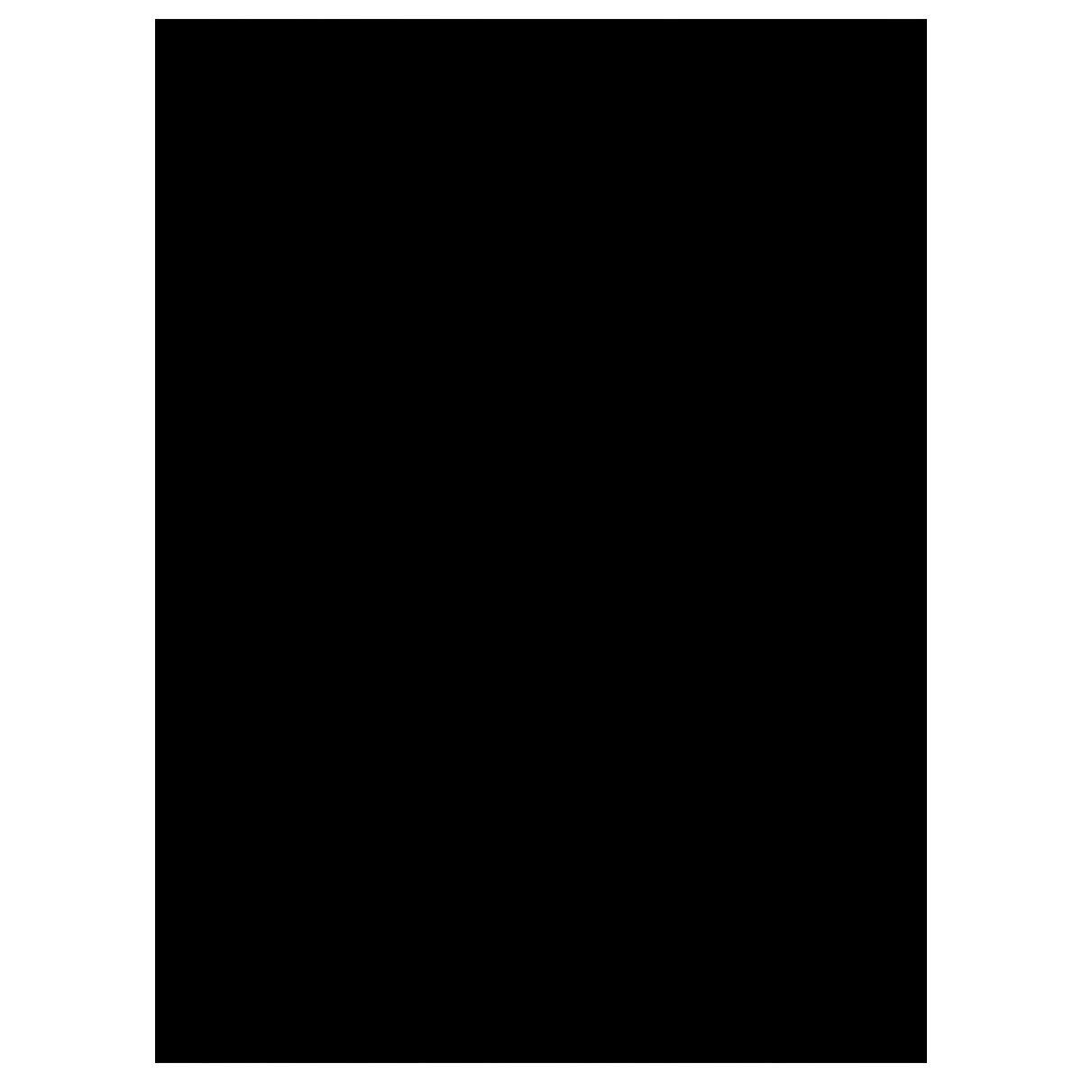 COOJA Pellicola Privacy Finestre Autoadesiva, Elettrostatica Pellicola Oscurante Vetri Adesivi Pellicola Opaca Vetro Anti UV Pellicola per Finestre Stickers Finestra 45x200cm -Nero