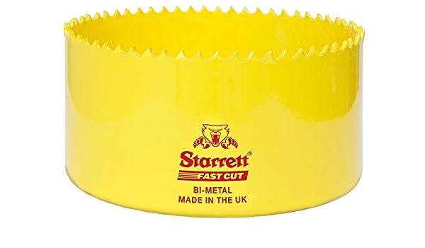 Starrett 73mm Fast Cut HSS Bi-Metal Holesaw cuts Wood Plastic Metal Hole Saws