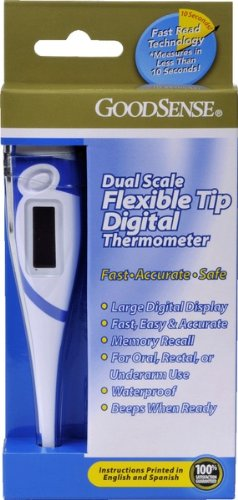Good Sense Flexible Tip Thermometer Case Pack 72