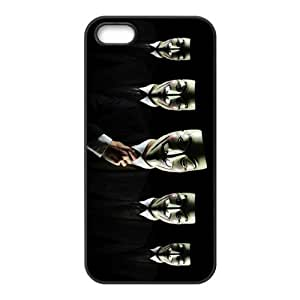 Awesome Mask Cool Black Costume TPU Rubber Case Cover for Iphone 5 5s