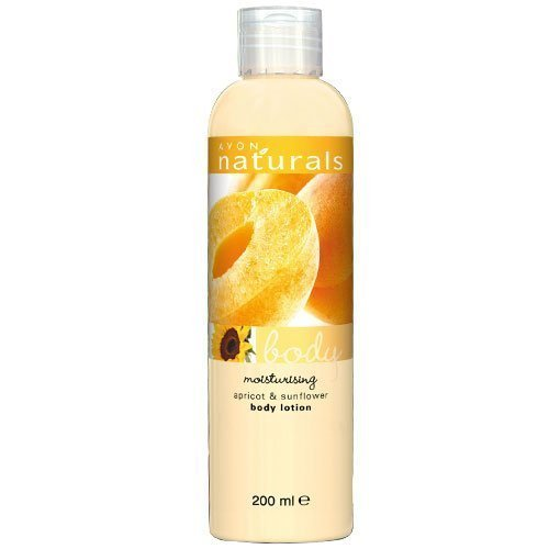 Avon Naturals Apricot & Sunflower Body Lotion Moisturizer Cream (Body Lotion Natural Apricot)