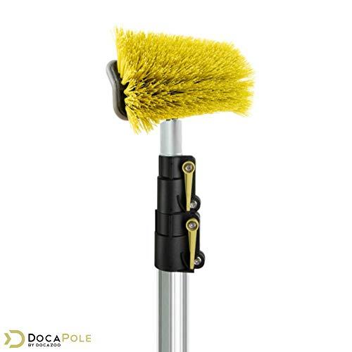 Docapole 5 12 Foot Hard Bristle Brush Extension Pole 11