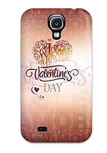 Tpu Case Cover Compatible For Galaxy S4/ Hot Case/ Feb 14 Valentines Day