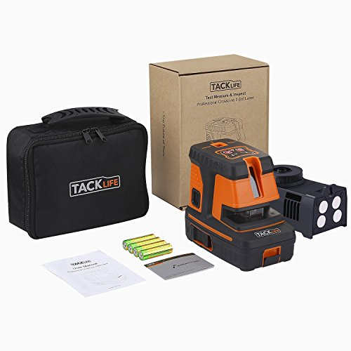 Tacklife SC-L06 3-Point Alignment Laser Level Self Leveling with Horizontal/Vertical Line and Cross-Line -- Enhanced Strong Magnetic Base, Soft Carrying Pouch, Batteries Included by TACKLIFE (Image #7)