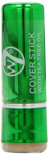 W7 Cover Stick with Tea Tree Oil Concealer - Light/Medium by W7 Warpaint Cosmetics Ltd.