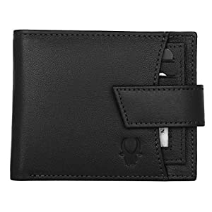 WildHorn Wildhorn India Black Men's Wallet (WH2066A Black)